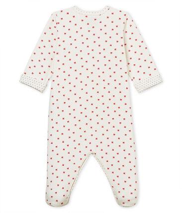 Pelele de tejido túbico para bebé niña