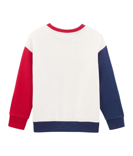 Sudadera infantil para niño blanco Marshmallow / blanco Multico