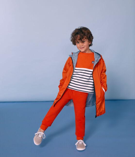 Pantalón infantil para niño naranja Carotte