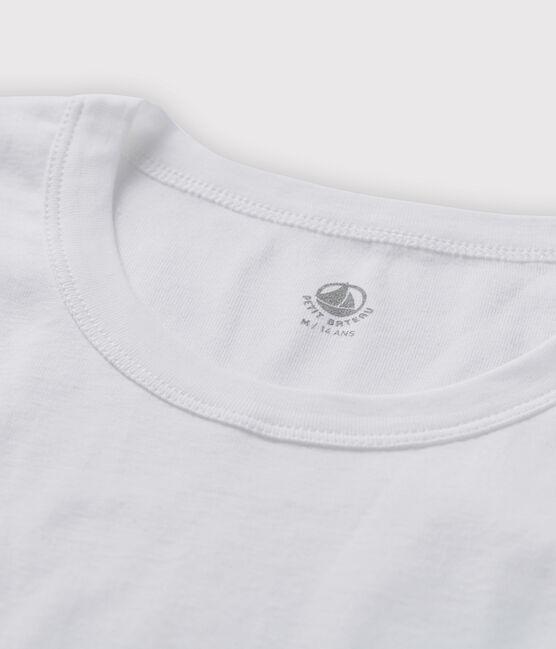 Camiseta de manga corta para hombre blanco Ecume