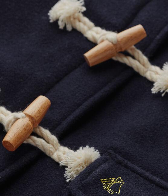 Parka niña de lana azul Smoking