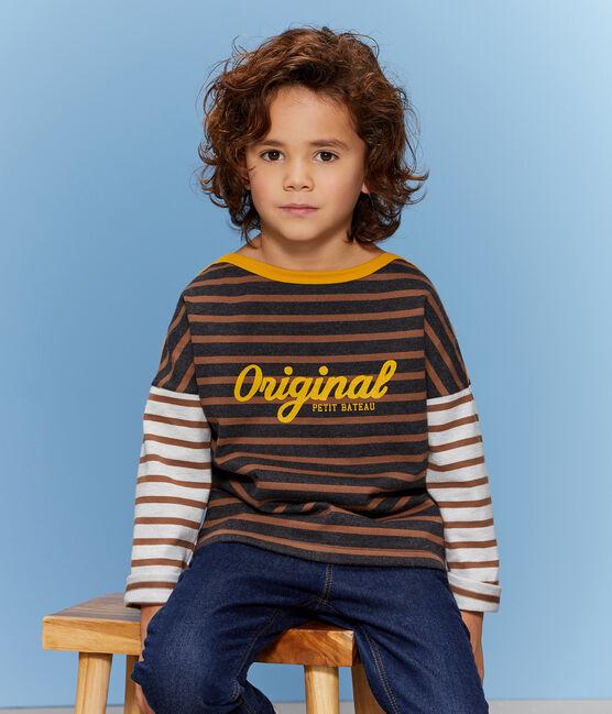 Jersey marinero para niño negro City / marrón Cocoa