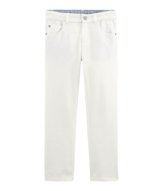 Pantalón infantil para niño blanco Marshmallow