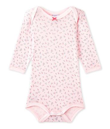 Body de manga larga estampado para bebé niña