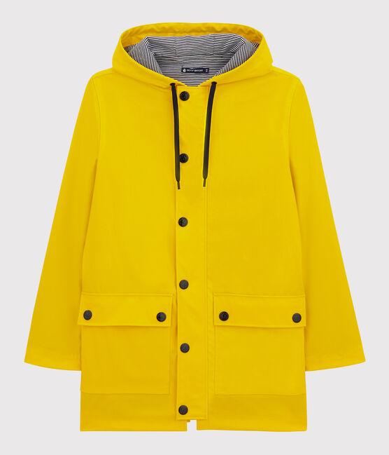 Impermeable emblemático para mujer amarillo Jaune