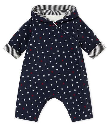 Buzo largo para bebé niño con estampado de estrellas