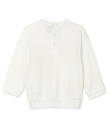 Sudadera ligera para bebé unisex blanco Marshmallow