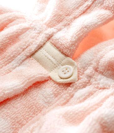 Capa de baño de rizo para bebé niña