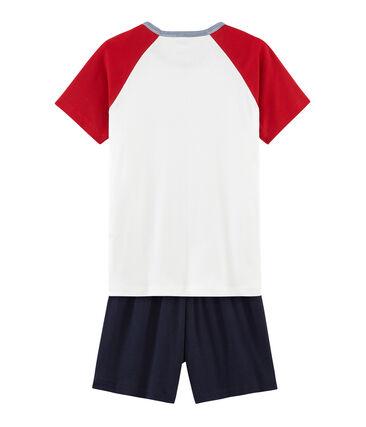 Pijama corto de punto para chico