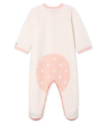 Pijama de terciopelo para bebé niña