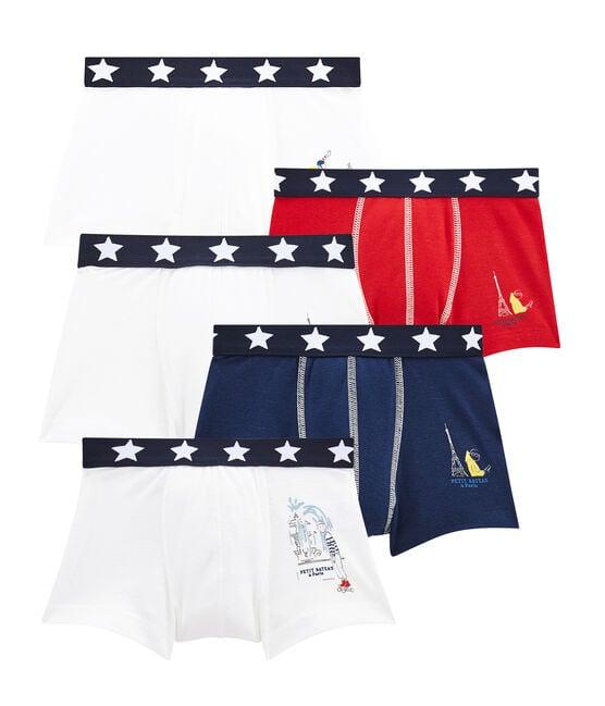 Pack de 5 boxers para niño lote .