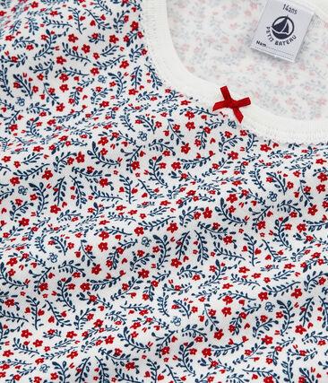Pijama corto de punto para chica