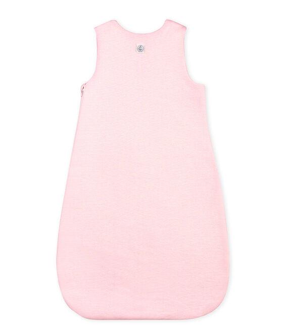 Saquito milrayas para bebé unisex rosa Vienne / blanco Marshmallow