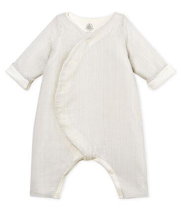 Mono largo de rayas para bebé niño