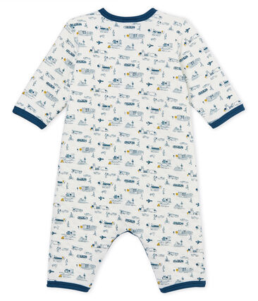 21cf52324 Pelele sin pies de tejido túbico para bebé niño | Petit Bateau