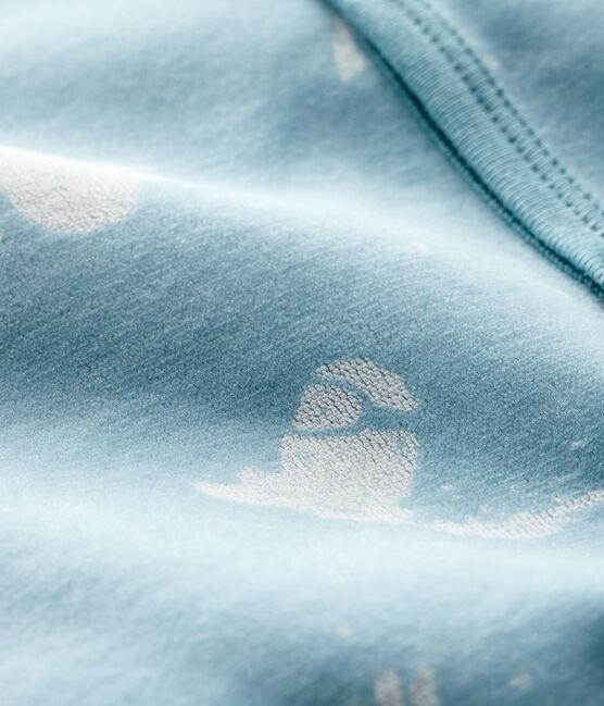 Pelele de terciopelo Yéti para bebé niño BRUME/MARSHMALLOW