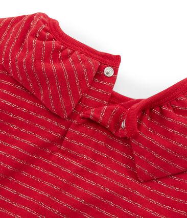 Camiseta de manga larga para niña rojo Terkuit / amarillo Or