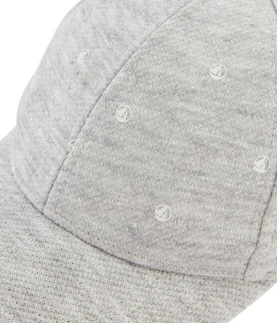 Gorra en jersey para peque mixta gris Beluga