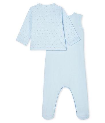 Conjunto para bebé de dos piezas de punto null