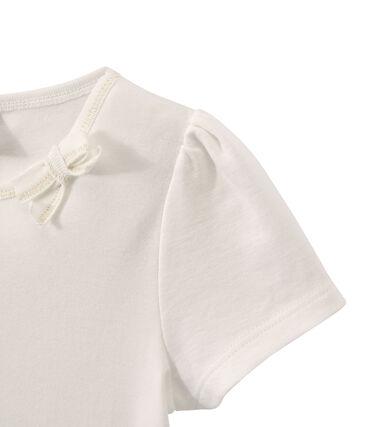 Camiseta de niña con lazo