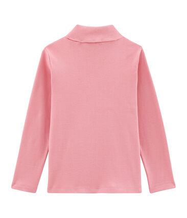 Jersey de cuello alto infantil unisex rosa Cheek