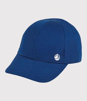 Gorra de gabardina de niña/niño azul Surf