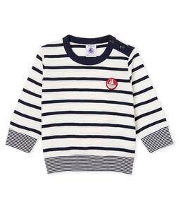 Camiseta de manga larga y rayas para bebé niño