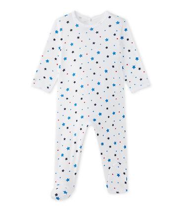 Pijama con motivo de estrella para bebé niño