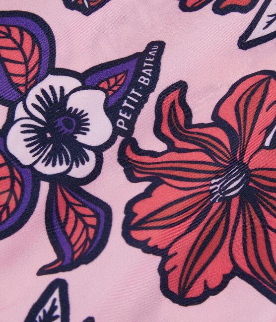Traje de baño de 1 pieza ecorresponsable para mujer rosa Patience / blanco Multico