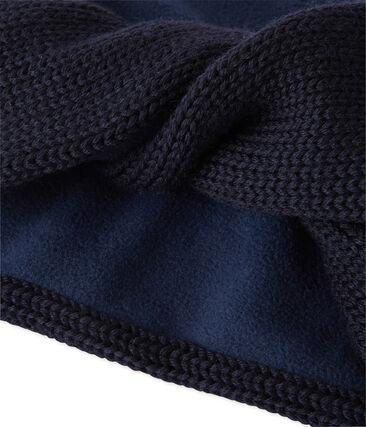 Cuello para niña en tricot forrado