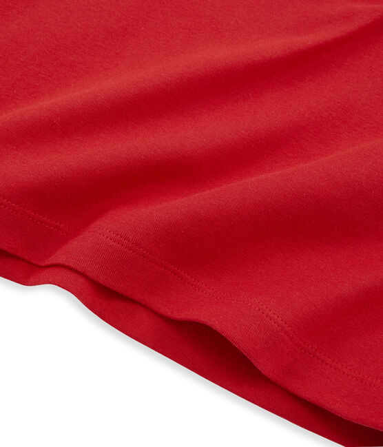 Camiseta de manga larga icónica de mujer rojo Terkuit