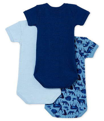 Tiro de bodis de manga corta para bebé niño