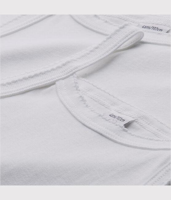 Lote de 2 camisetas de tirantes blancas chica lote .