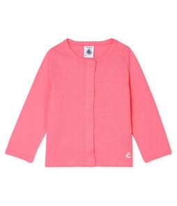 Cárdigan ligero para bebé niña rosa Cupcake