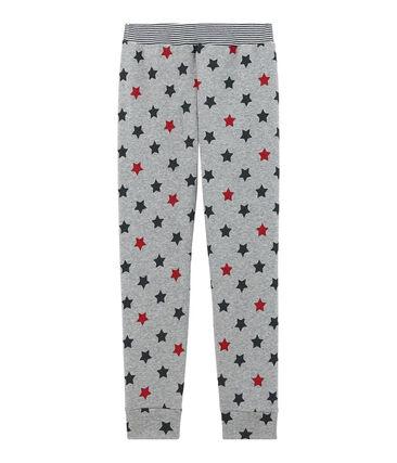 Pantalón de pijama para niño gris Subway / blanco Multico