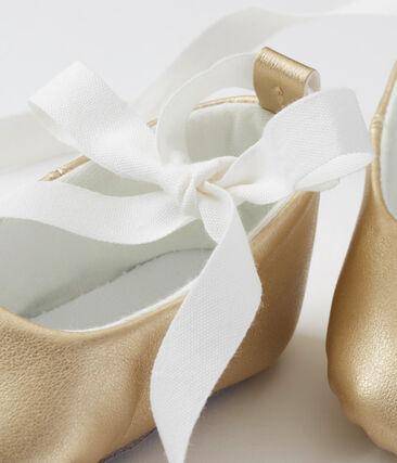 Zapatillas de bailarina para bebe niña