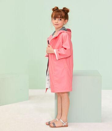 Chubasquero para niño y niña rosa Cupcake