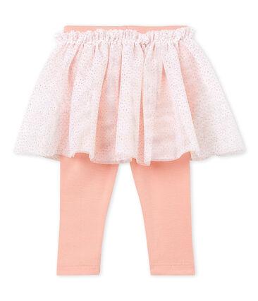 Falda leggings para bebé niña rosa Rosako / rosa Copper