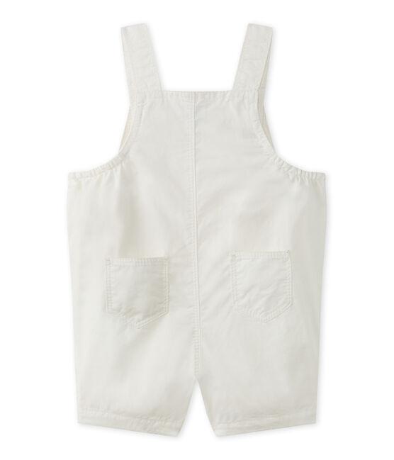 Peto corto para bebé niño blanco Marshmallow