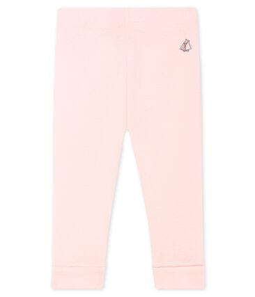 Leggings para bebé niña rosa Fleur