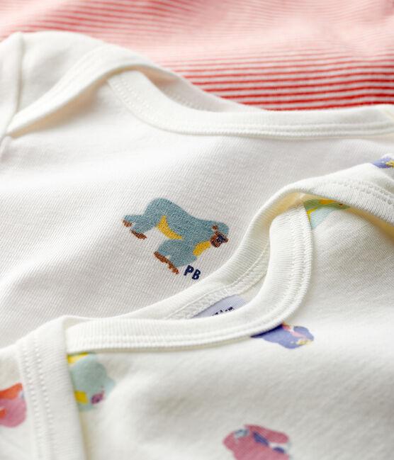 Juego de 3 bodis de manga corta para bebé de niño lote .