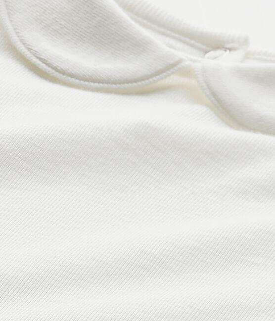 Body para bebé niña con cuello blanco Marshmallow