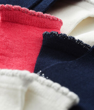 Lote de 5 pares de calcetines básicos para bebé niña lote .