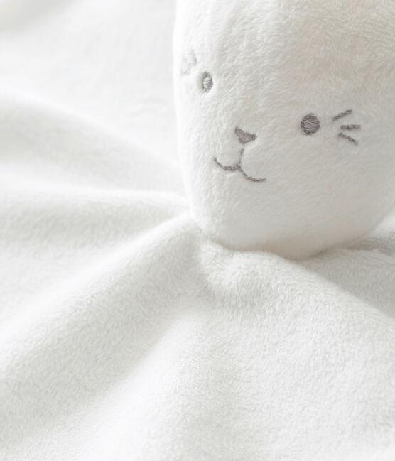 Doudou conejito con la milrayas blanco Marshmallow
