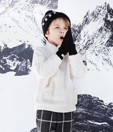 Sudadera polar de borreguillo para niño