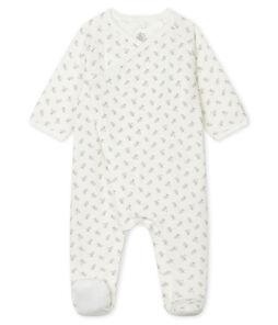 Pijama de túbico blanco Marshmallow / blanco Multico