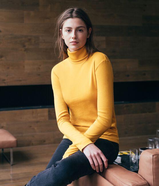 Camiseta interior para mujer amarillo Boudor