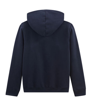 Sudadera de mujer con capucha azul Smoking