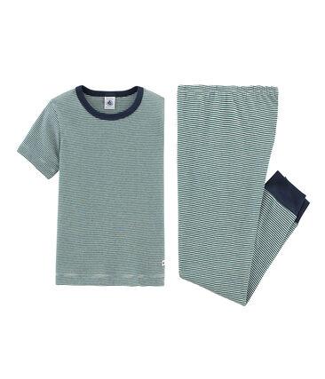 Pijama manga corta de punto para niño