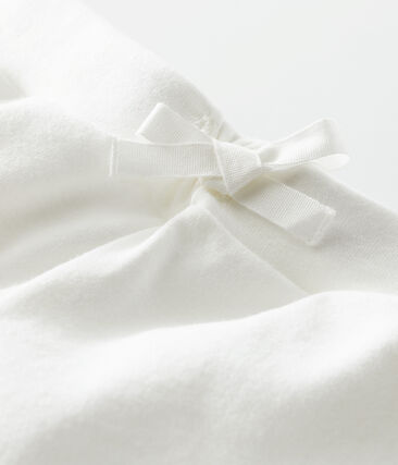 Shorts infantiles para niña blanco Marshmallow